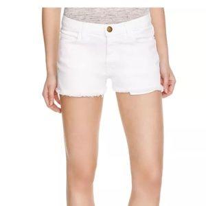 Current/Elliott Shorts - Current/Elliott The Boyfriend Shorts White Size 28